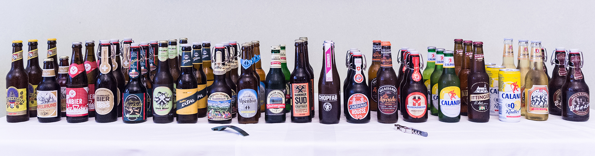 La diversité de la bière suisse